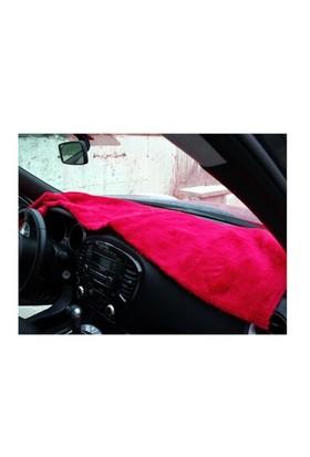 Peluş Örtü Taxi Kırmızı