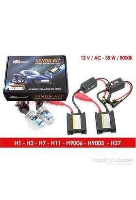 Space Xenon Kit H9006-8000K 12V-DC 35W