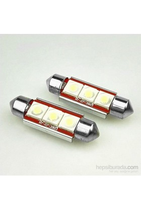 Space Sofit Ampul Full Canbus 39Mm 3 Cree Led / 3V