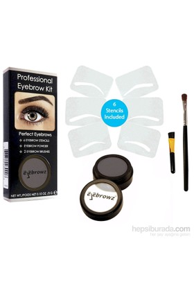 Eyebrowz Professional Eyebrow Kit - Soft Black