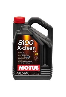 Motul 8100 X-Clean 5W40 5 Litre