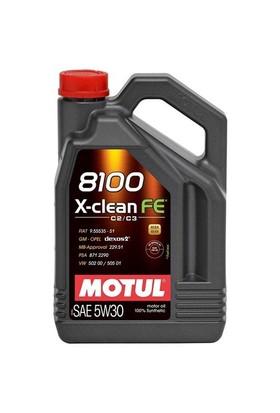 Motul 8100 X-Clean Fe 5W30 4 Litre