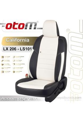 Otom Bmw X Series 3 2014-Sonrası California Design Araca Özel Deri Koltuk Kılıfı Kırık Beyaz-109