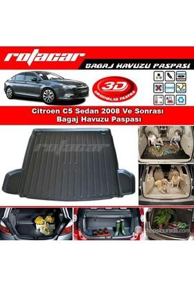 Citroen C5 Sedan 2008 Ve Sonrası Bagaj Havuzu Paspası BG028