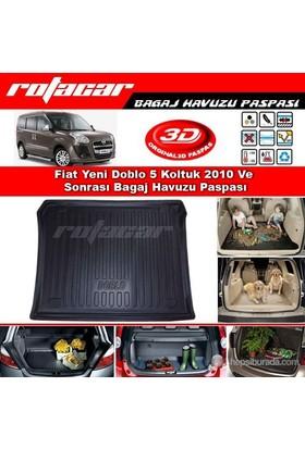 Fiat Yenı Doblo 5 Koltuk 2010 Ve Sonrası Bagaj Havuzu Paspası BG041