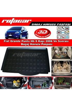 Fiat Grande Punto Hb 5 Kapı 2006 Ve Sonrası Bagaj Havuzu Paspası BG044