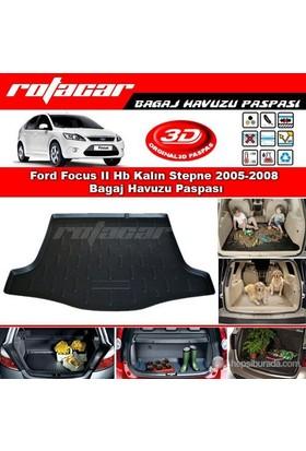 Ford Focus II Hb Kalın Stepne 2005 2008 Bagaj Havuzu Paspası BG064