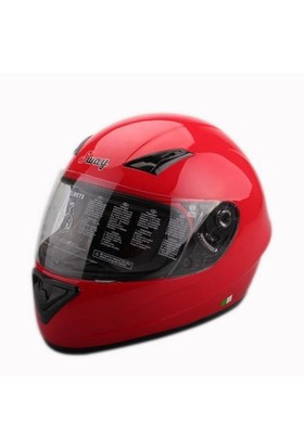 Sway 802 Full Face Kırmızı Kask - 5 Beden