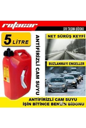 Rotacar Antifirizli Cam Suyu 5 Lt /Geri Dönüşümlü Bidon