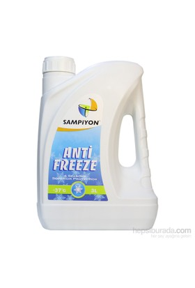 Şampiyon Hazır Antifriz -37°C - 3 Lt