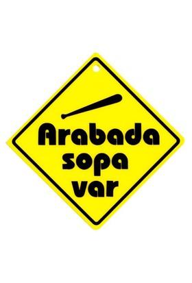 "Z tech "" ARABADA SOPA VAR "" Pleksi Sticker"