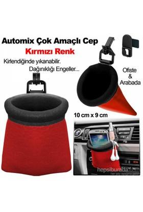 Automix Çok Amaçlı Kese Kırmızı