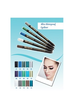 Gabrini Ultra Wateproof Eyeliner 15