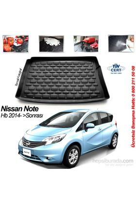 Nissan Note Hb Bagaj Havuzu 2014 Sonrası