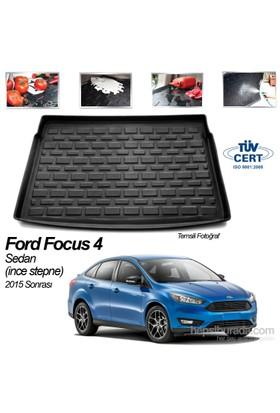 Ford Focus 4 Sedan Bagaj Havuzu İnce Stepne 2015