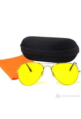 Actto Anti Far Gece Görüş Gözlüğü ( Kılıf ve Temizleme Bezi Hediyeli )