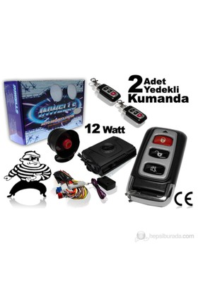 Automix Uzaktan Kumandalı Oto Alarm Sistemi 3707