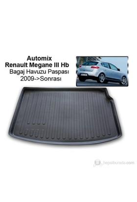 Automix Renault Megane 3 Bagaj Havuzu Paspası 2009->Sonrası