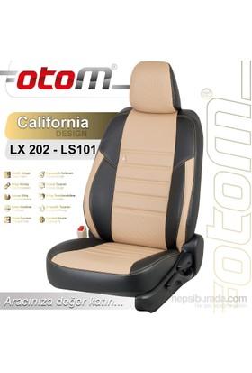 Otom V.W. Crafter 17+1 (18 Kişi) 2007-Sonrası California Design Araca Özel Deri Koltuk Kılıfı Bej-101