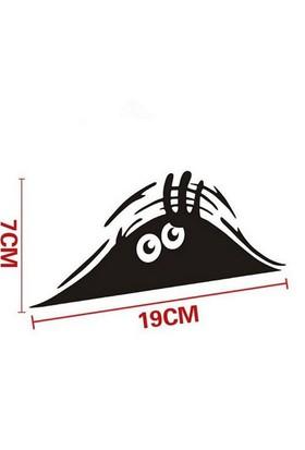 Tsc Bakan Göz Sticker Araç Yapıştırması