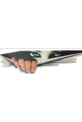 Tsc Araç Sticker Bakan Göz İlginç Kız