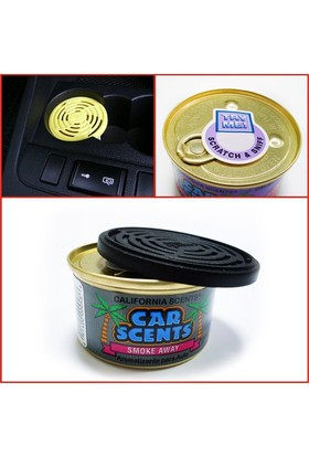 California Car Scents No Smoke Temizleyici Koku (Made in U.S.A.)