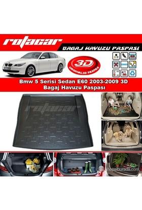 Bmw 5 Serisi Sedan E60 2003-2009 3D Bagaj Havuzu Paspası BG012