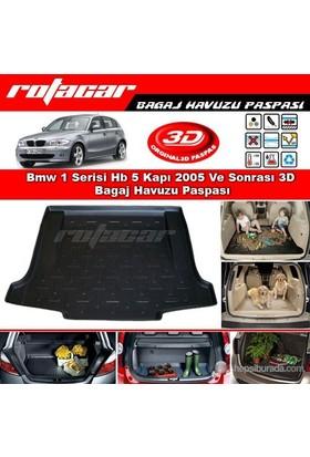 Bmw 1 Serisi Hb 5 Kapı 2005 Ve Sonrası 3D Bagaj Havuzu Paspası BG014