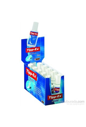 Bic Tipp-Ex Rapid Sıvı Silici 10'lu Kutu