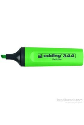 Edding Fosforlu Kalem Yeşil E-344