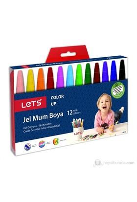 Lets 12 Renk Jel Mum Boya