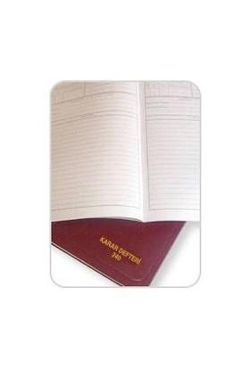Dilman Karar Defteri Karton Kapak 40 Yaprak-Numaralı
