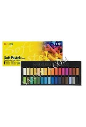 Mungyo Gallery Artists' Soft Pastel 12 Renk Yarım Boy
