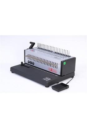 Mühlen Eb-20 Elektrikli Plastik Spiral Ciltleme Makinesi