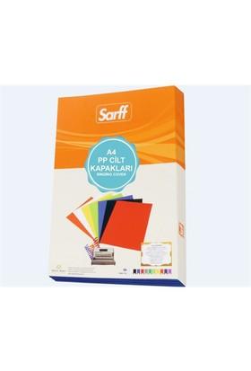 Sarff 450Mic.A4 Opak Beyaz Pp Kapak 50 Ad. 15201106