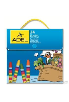 Adel Çantalı Pastel Boya 24 Renk (4281824000)