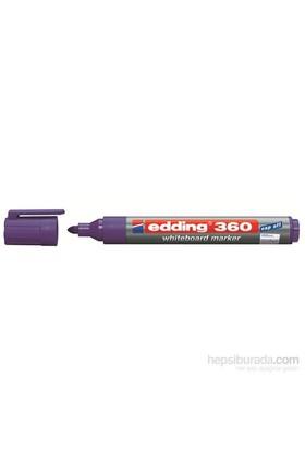 Edding Beyaz Tahta Kalemi Cap Off E-360 Mor