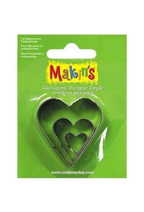 Makin's Clay Kalp Kesme Kalıbı (36007)
