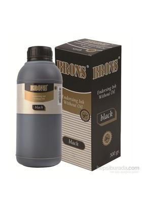 Brons Br-320 Istampa Murekkebı Siyah 500 gr