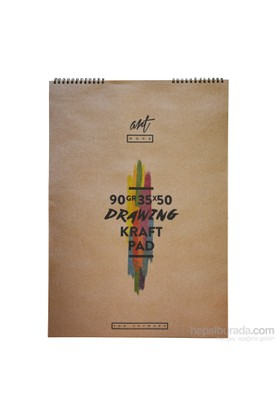 Artwork Kraft Resim Blok 35X50 15 Yp