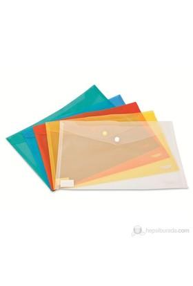 Noki Dosya Çıtçıtlı Evrak Zarfı Şeffaf 3101