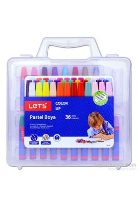 Let's LK36 Çantalı Pastel Boya 36 Renk