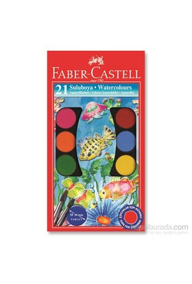 Faber-Castell Redline Suluboya 21 Renk Büyük Boy (5292125021)