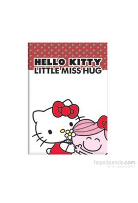 Keskin 451001-60 Hello Kitty Little A5 40 Yaprak Çizgili Plastik Kapak