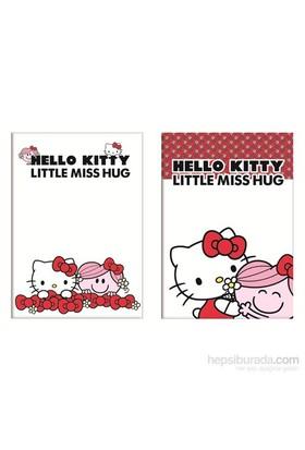 Keskin 322501-60 Hello Kitty Little A4 40 Yaprak Çizgili Plastik Kapak Defter