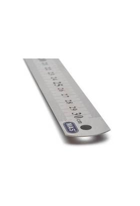 Mas 233 Çelik Cetvel 30cm 3 'lü Paket