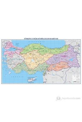 Türkiye Bölgeler Haritası 70X100