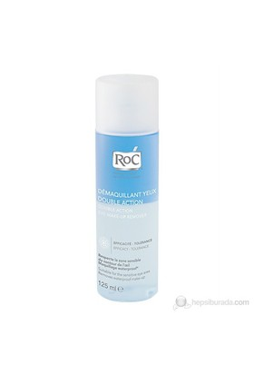 Roc Double Action Eye Makeup Remover 125 Ml