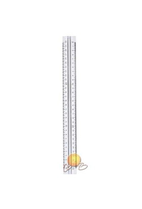 Hatas Tribldesimetre Şeffaf 30 Cm 00250