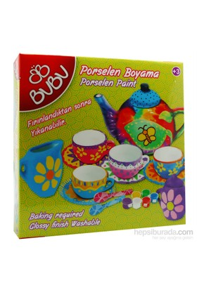Bu-Bu Porselen Boyama Çay Keyfi Seti 1 (70347) Bubu-Pb0005
